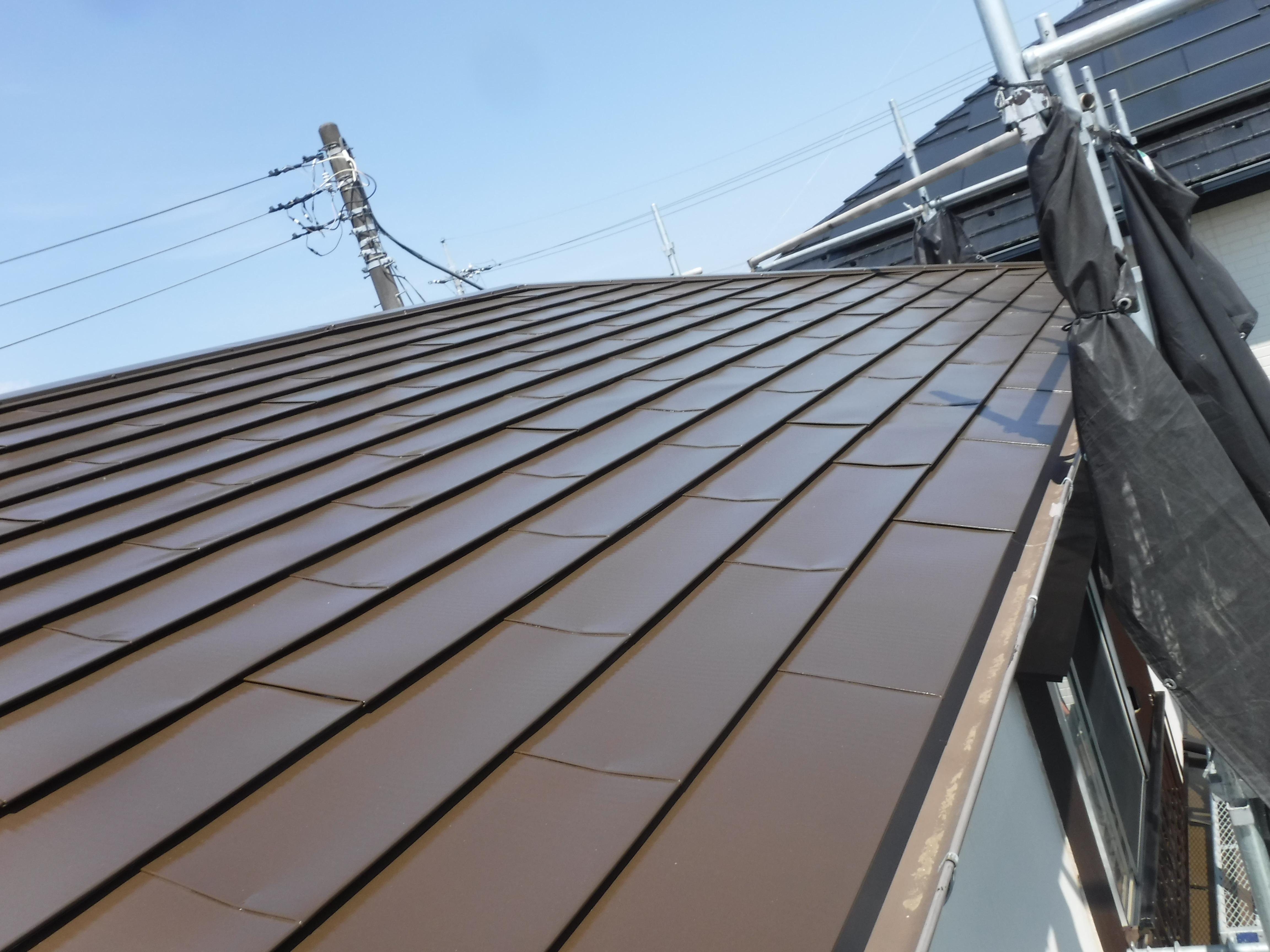 茂原市o様邸 屋根塗装工事 茂原市での外壁塗装屋根塗装リフォーム