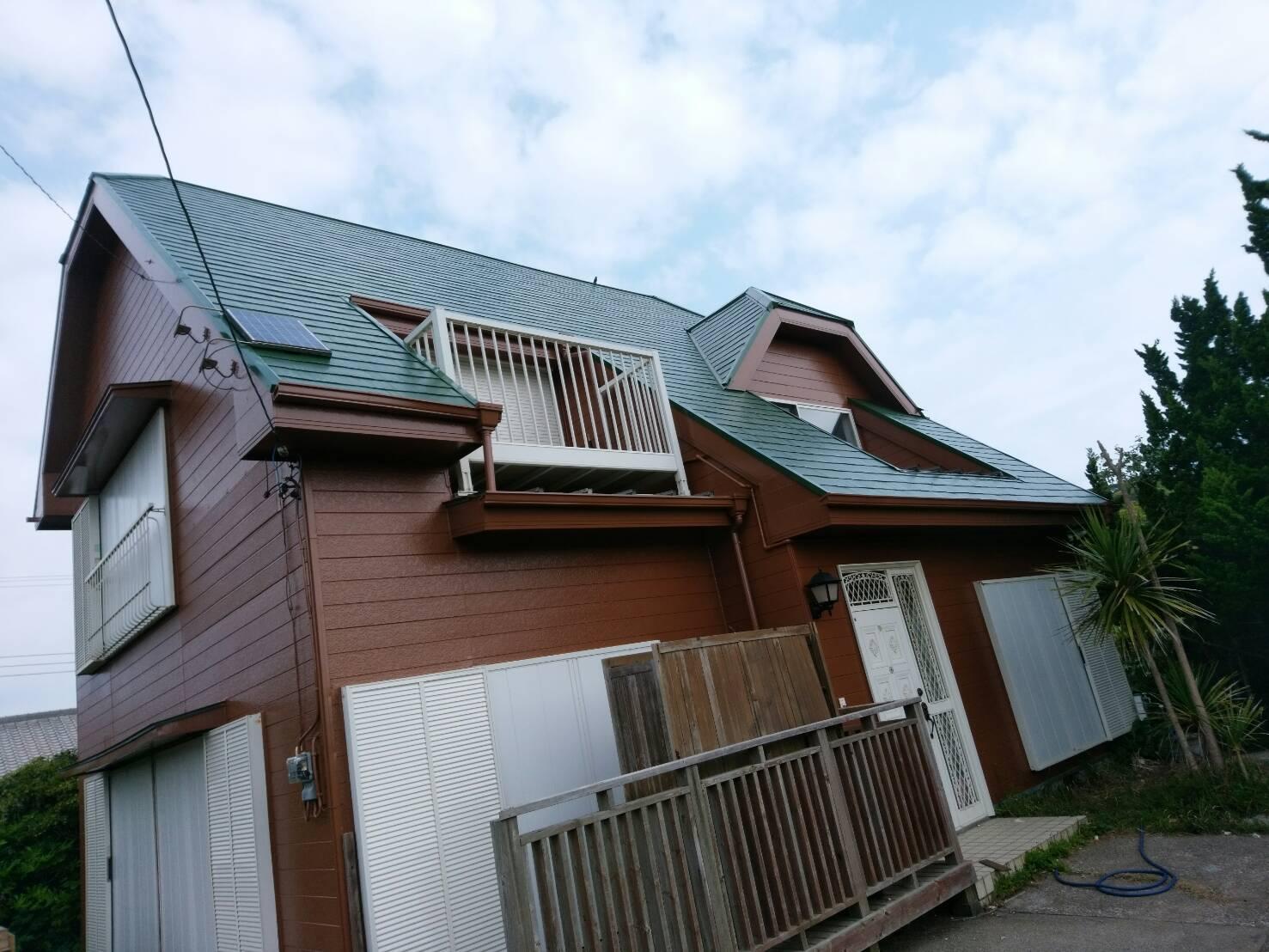 夷隅郡K様邸 外壁・屋根塗装工事