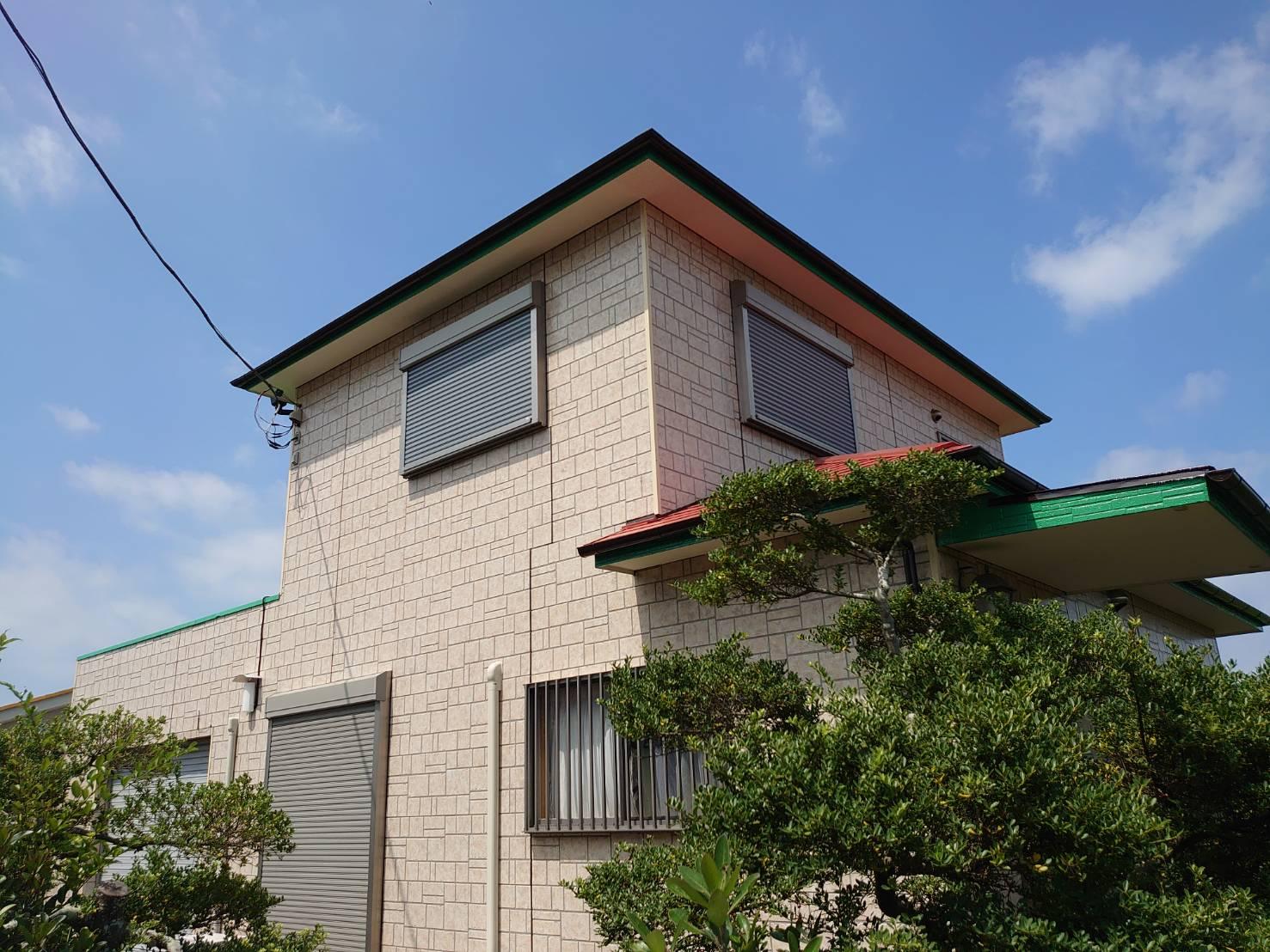 いすみ市H様邸 外壁・屋根塗装工事