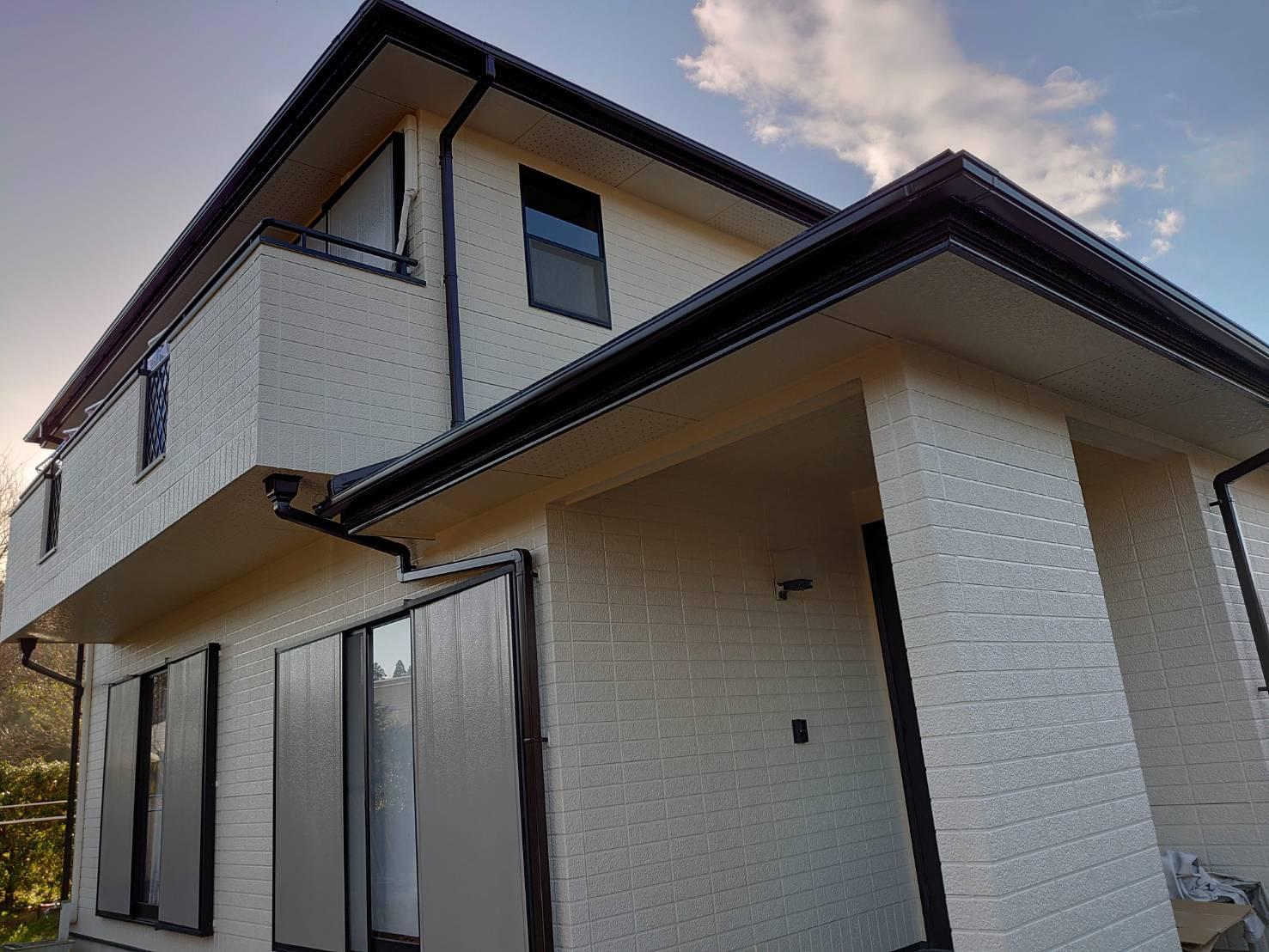 長生郡O様邸 外壁・屋根塗装工事