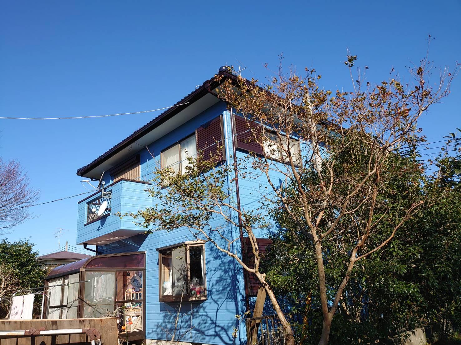 大網白里市U様邸 外壁・屋根塗装工事