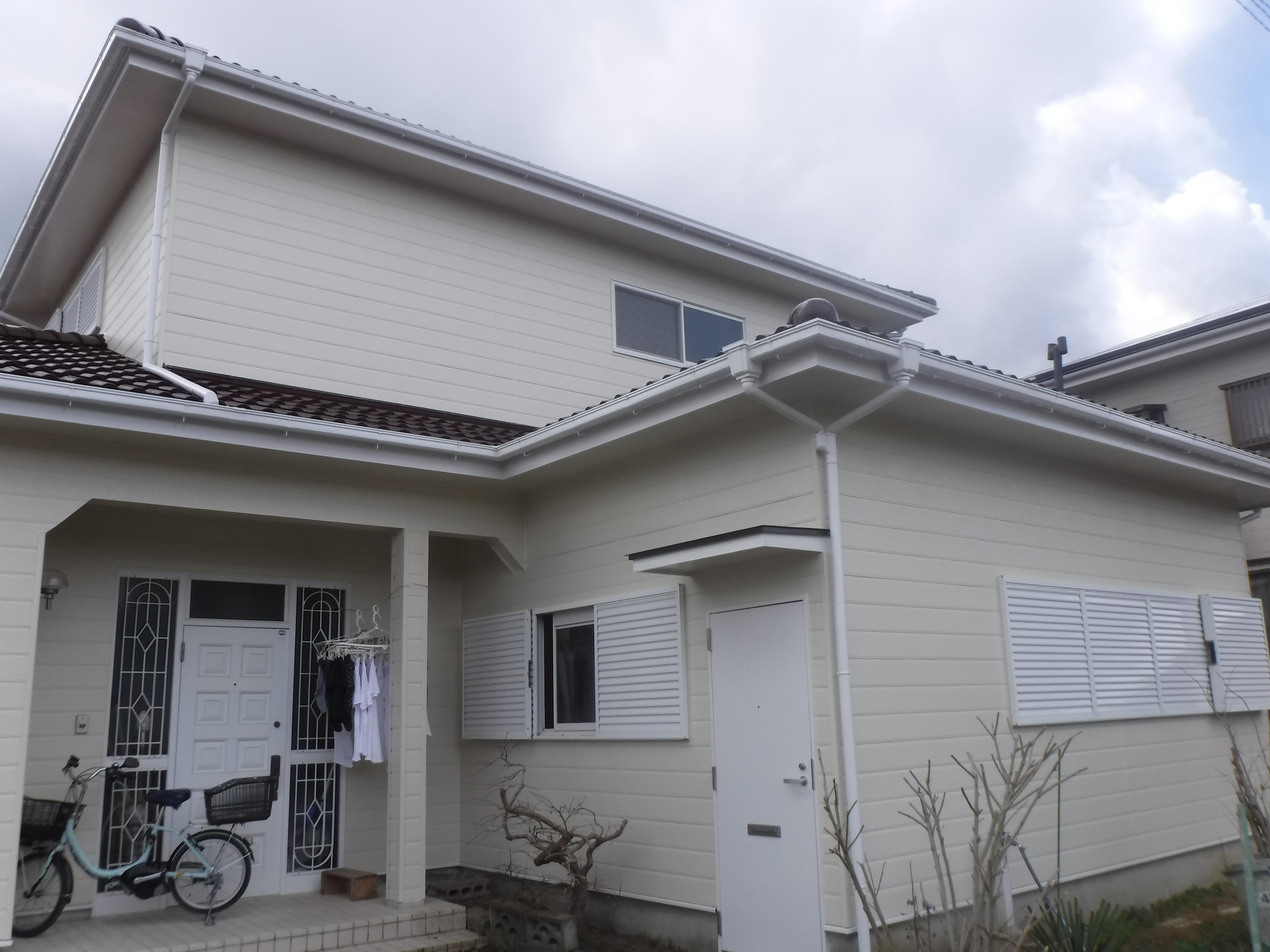 大網白里市W様邸 外壁・屋根塗装工事