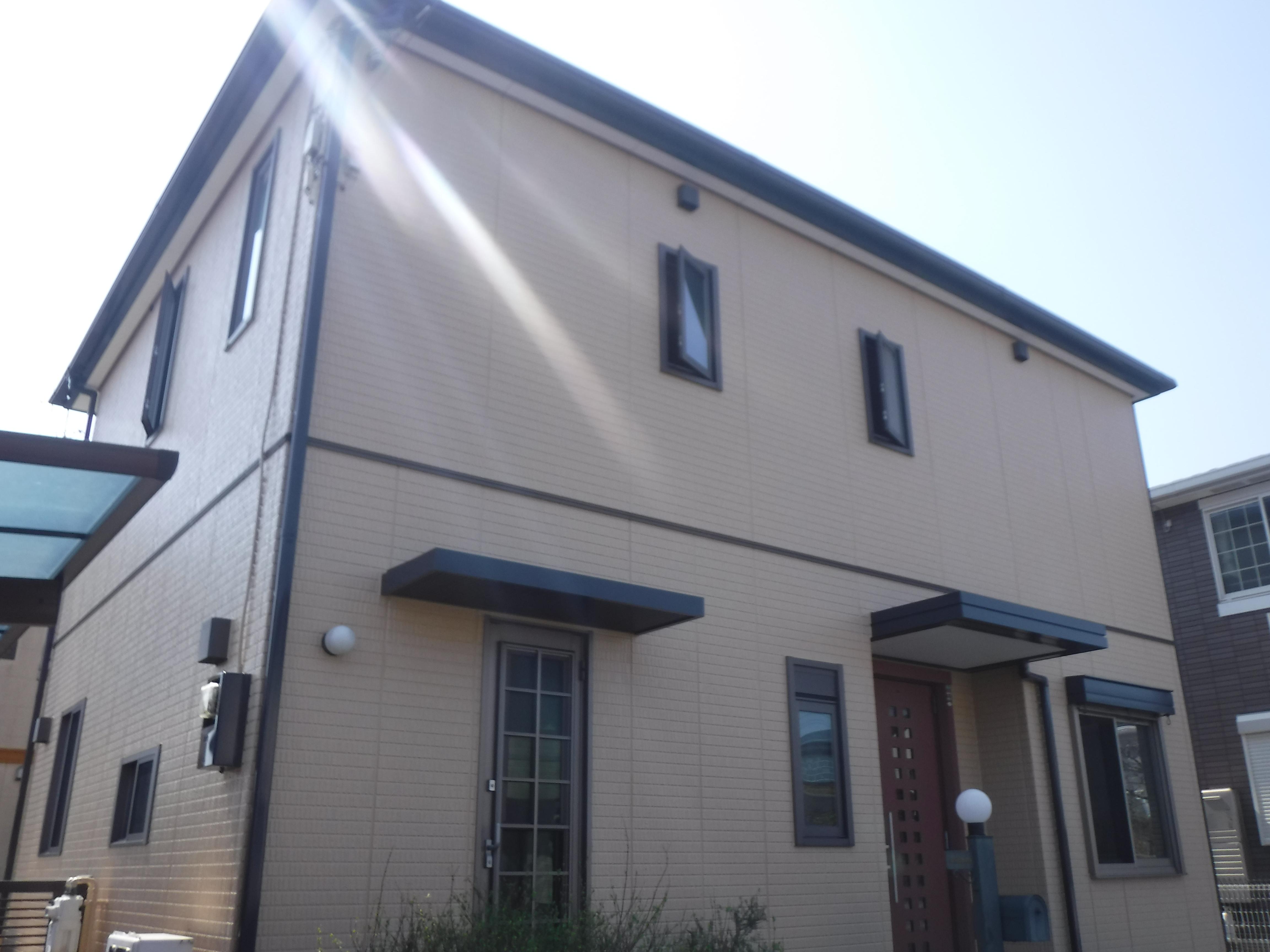 大網白里市N様邸 外壁・屋根塗装工事