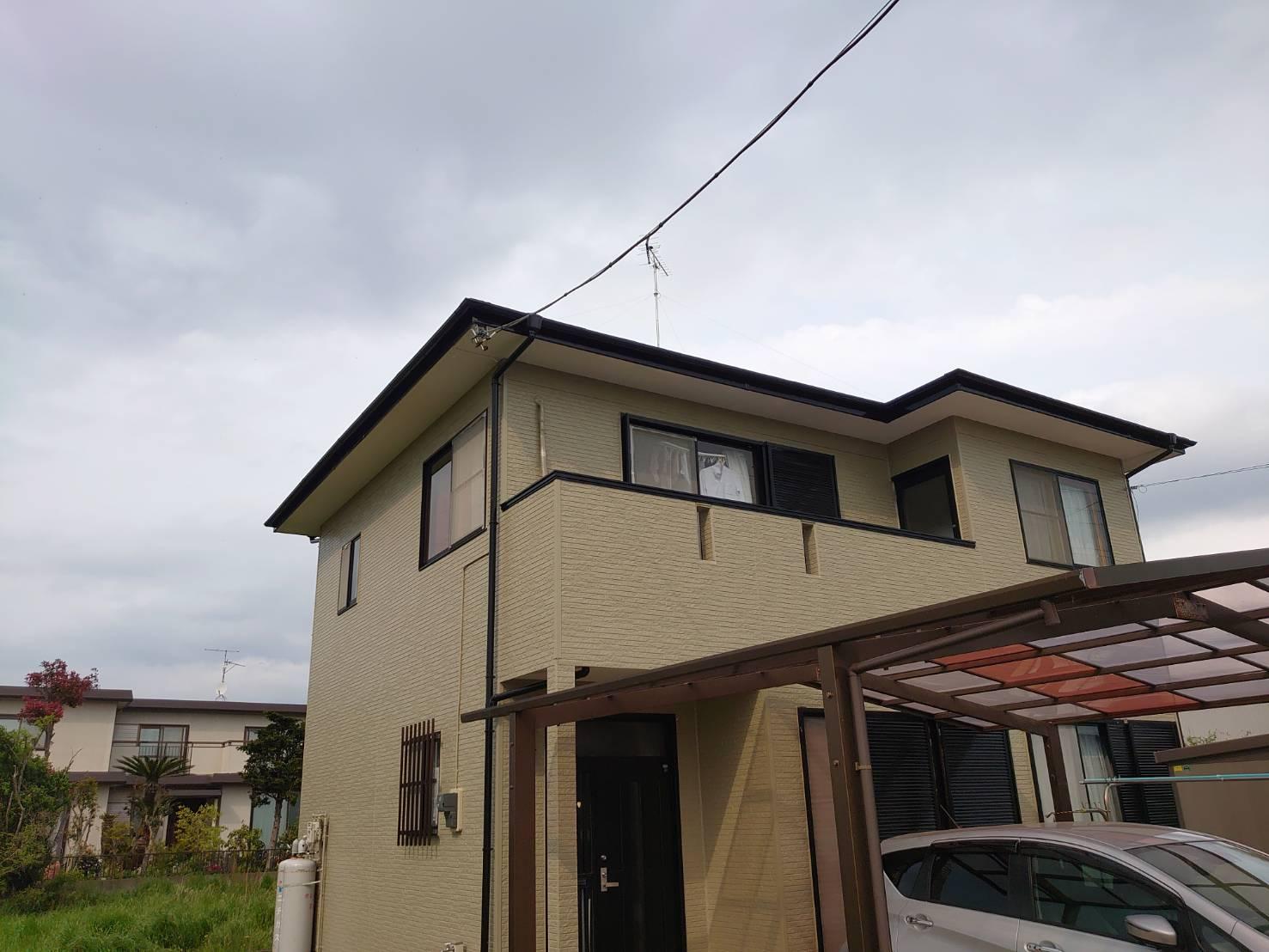 茂原市T様邸 外壁・屋根塗装工事
