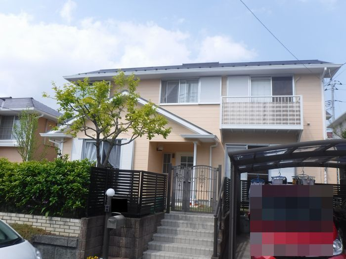 千葉市K様邸 外壁・屋根塗装工事