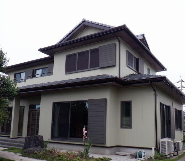 茂原市で外壁塗装工事が完工です。