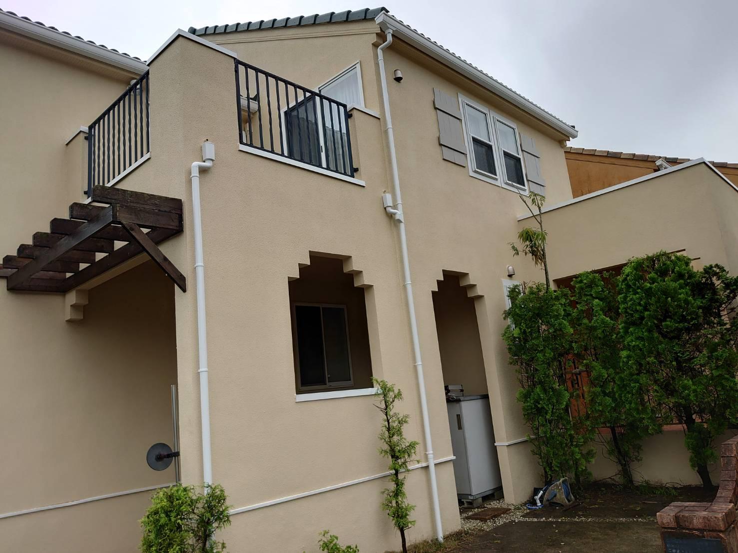 緑区あすみが丘東で外壁・屋根塗装工事が完工です。