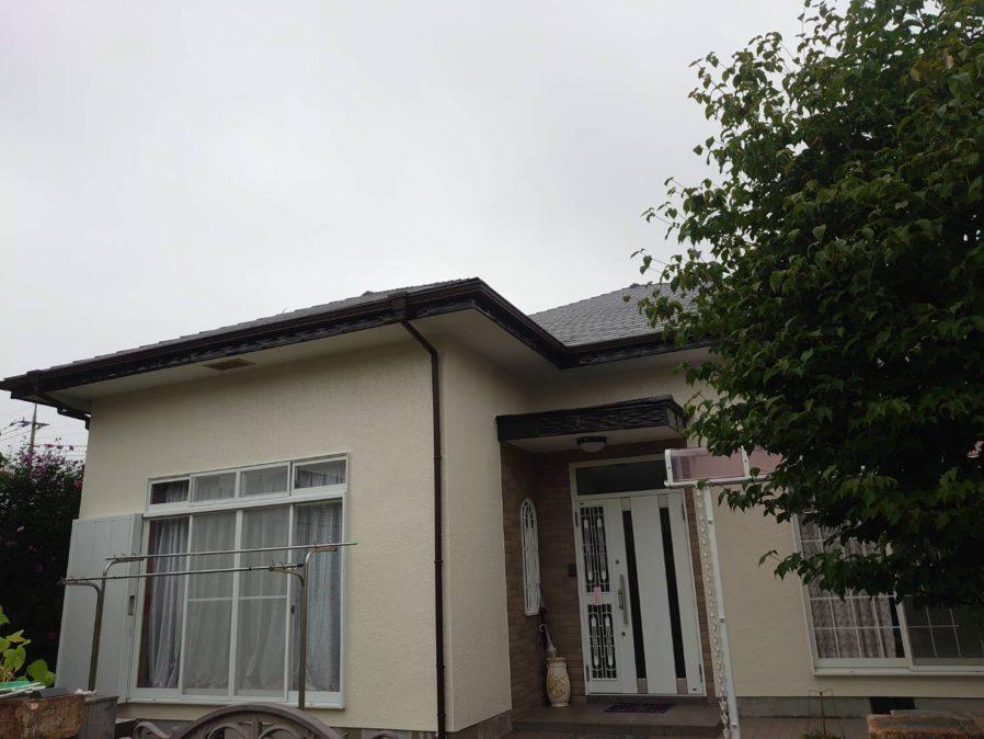 茂原市高師で外壁・屋根塗装工事が完工です。