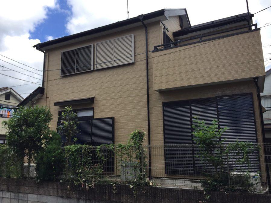 緑区高津戸町で外壁・屋根塗装工事が完工です。