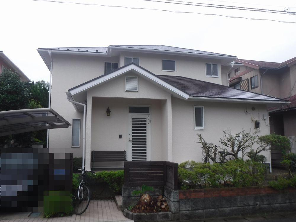 大網白里市K様邸 外壁・屋根塗装工事
