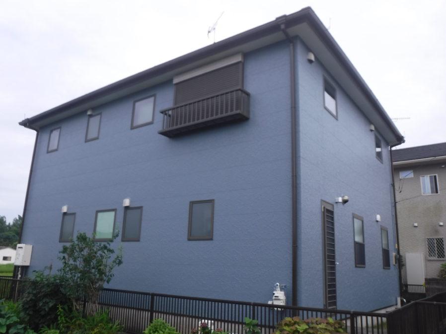 茂原市早野で外壁・屋根塗装工事が完工です。