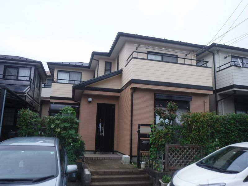 緑区あすみが丘で外壁・屋根塗装工事が完工です。