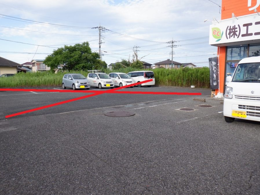 店舗駐車場について