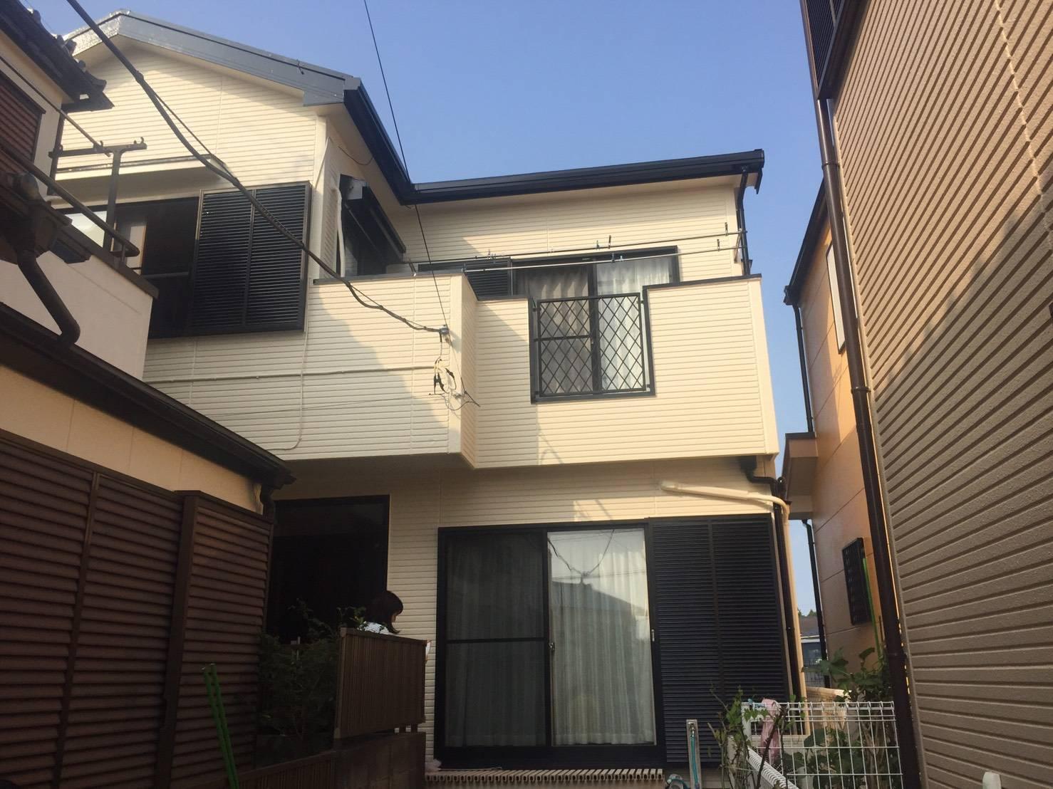 千葉市H様邸 外壁・屋根塗装工事