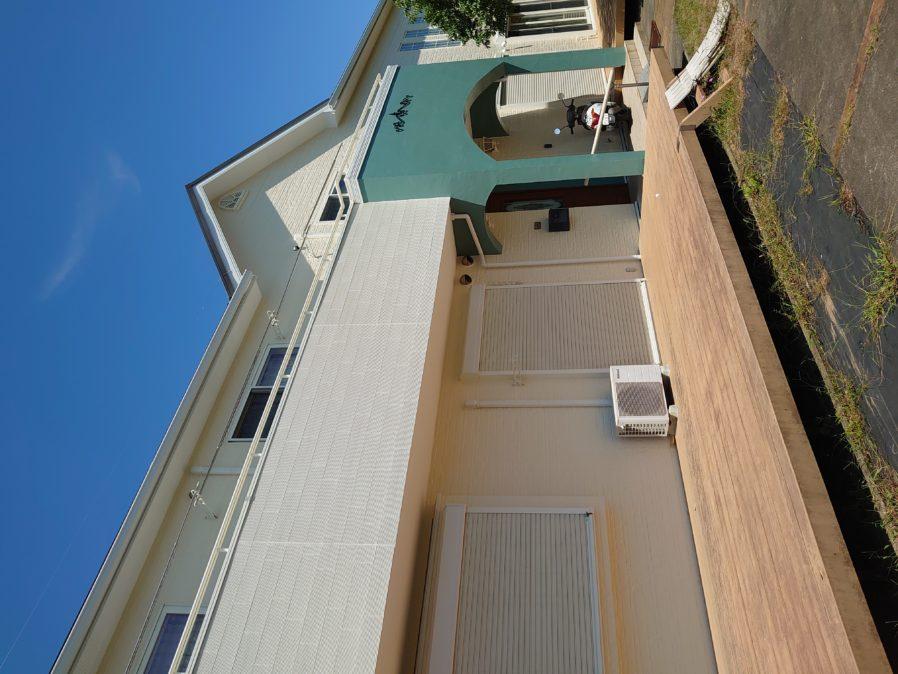 長生郡N様邸 外壁塗装・屋根カバー工事