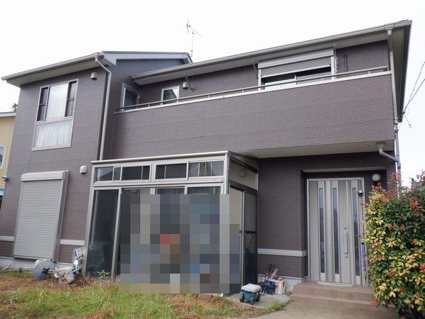 長生郡A様邸 外壁・屋根塗装工事