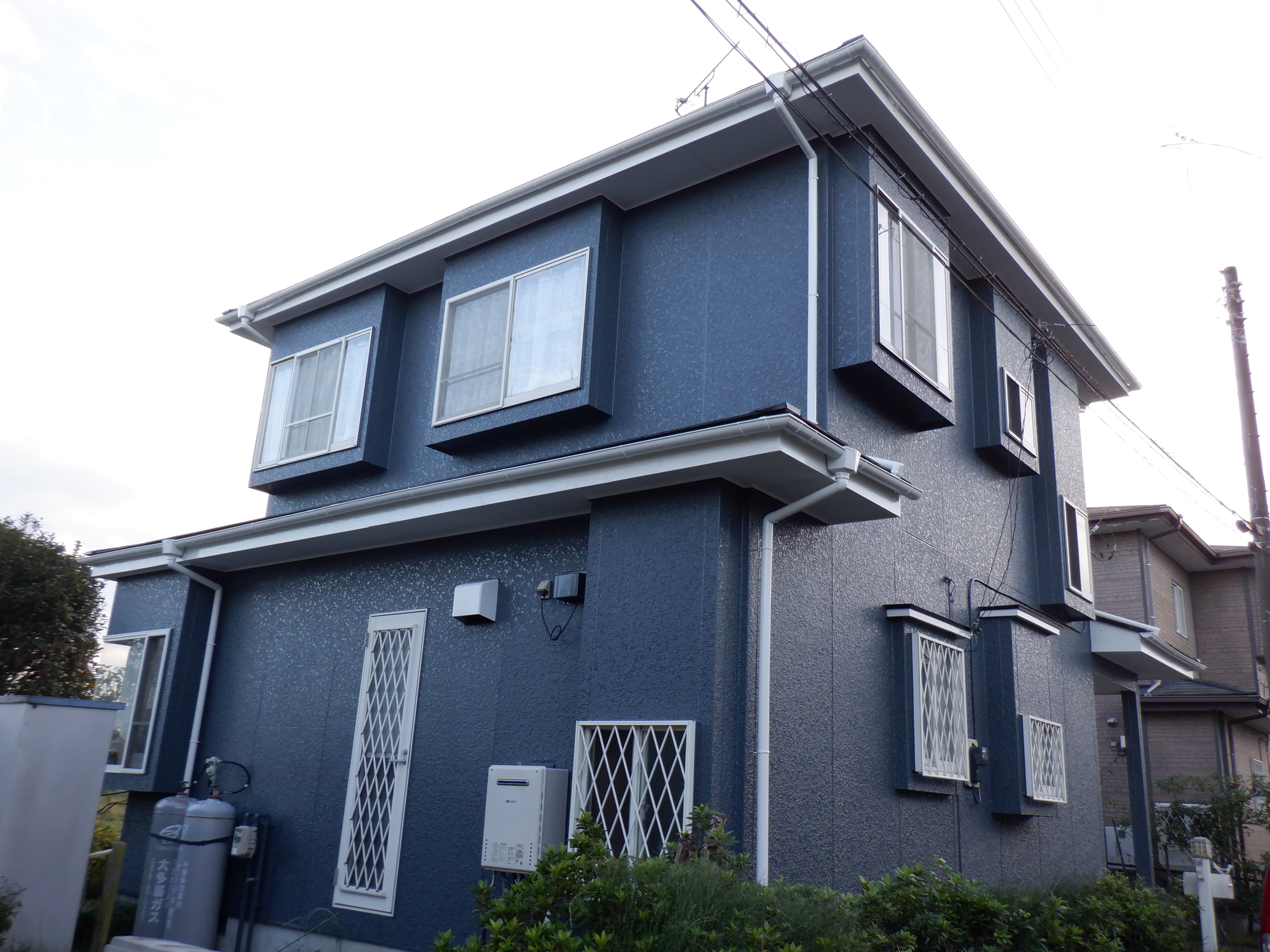 長生郡W様邸 外壁・屋根塗装工事