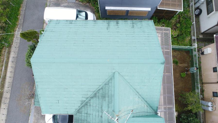長生村で屋根カバー工事が完工です!