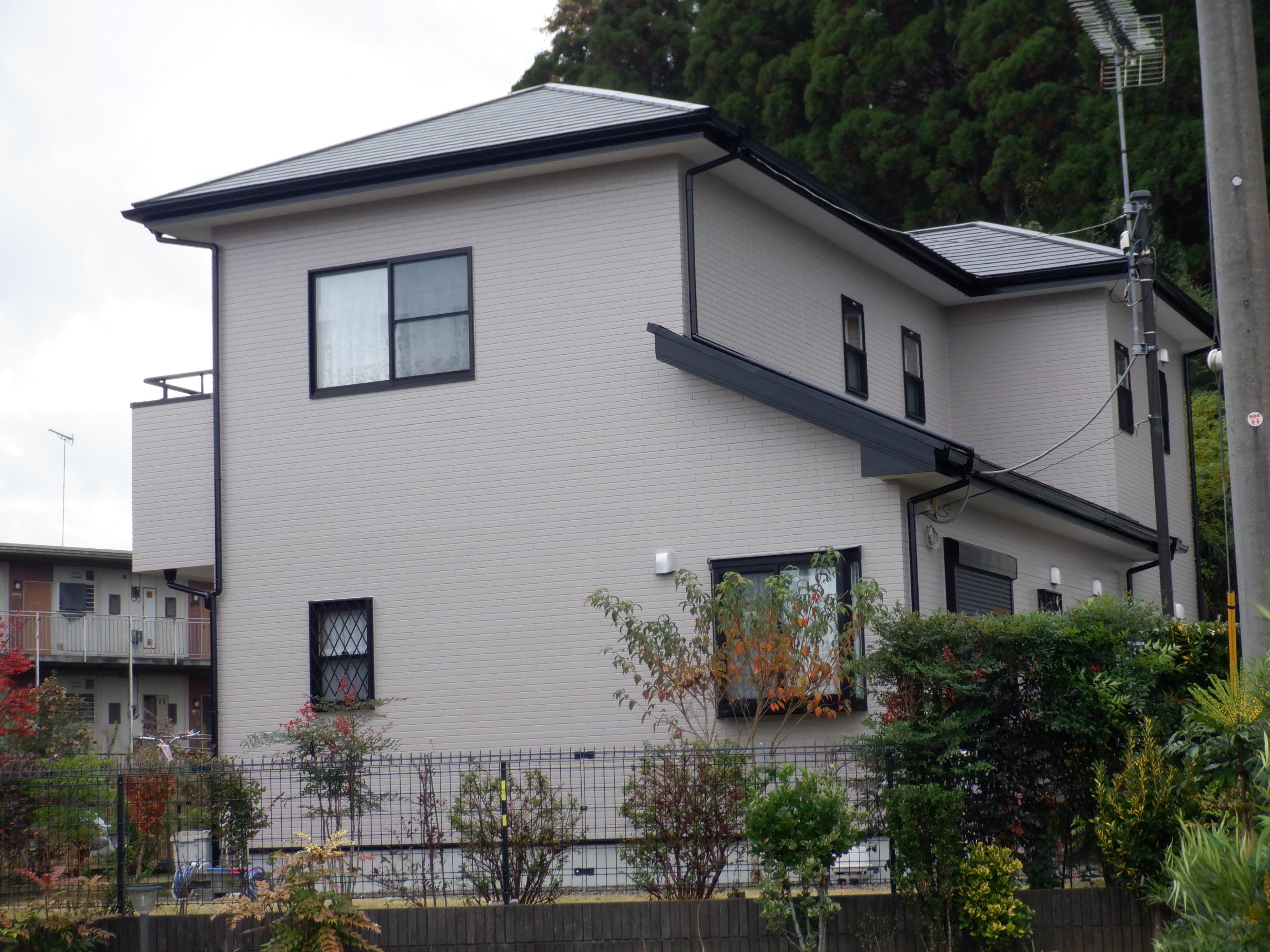 茂原市I様邸 外壁・屋根塗装工事