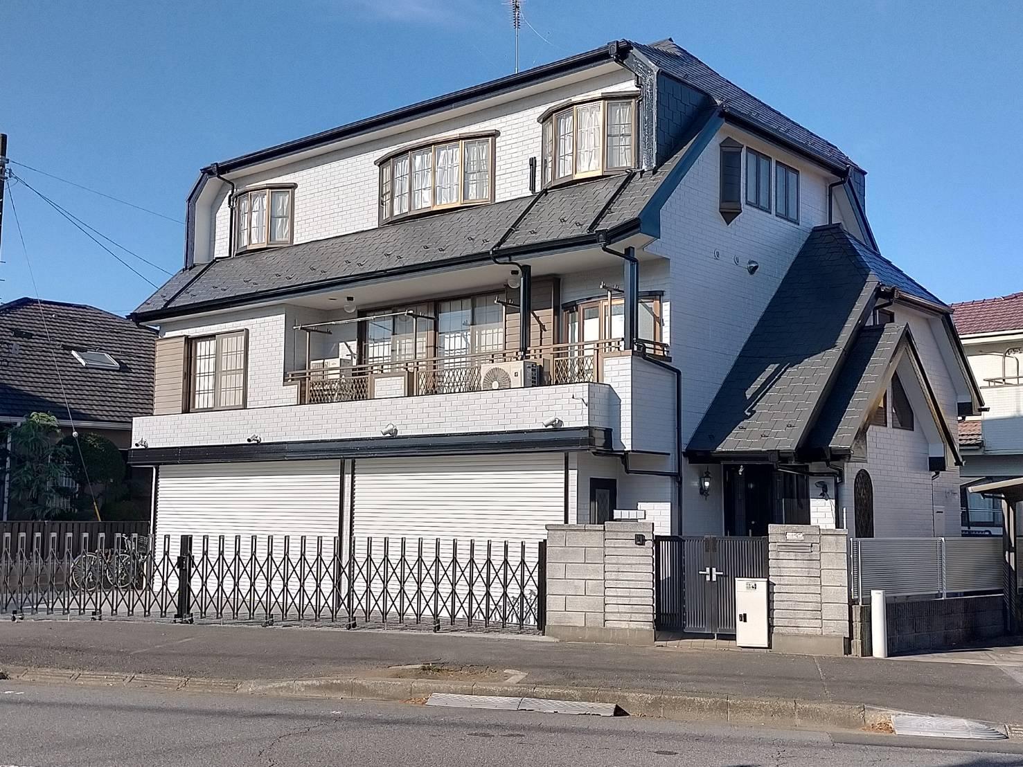千葉市I様邸 外壁・屋根塗装工事