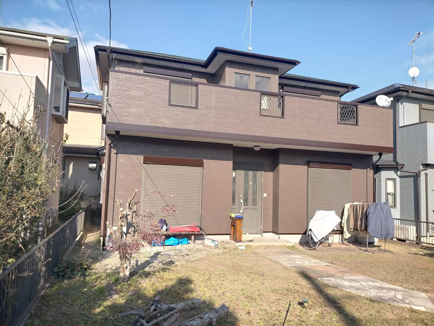 長生郡T様邸 外壁・屋根塗装工事