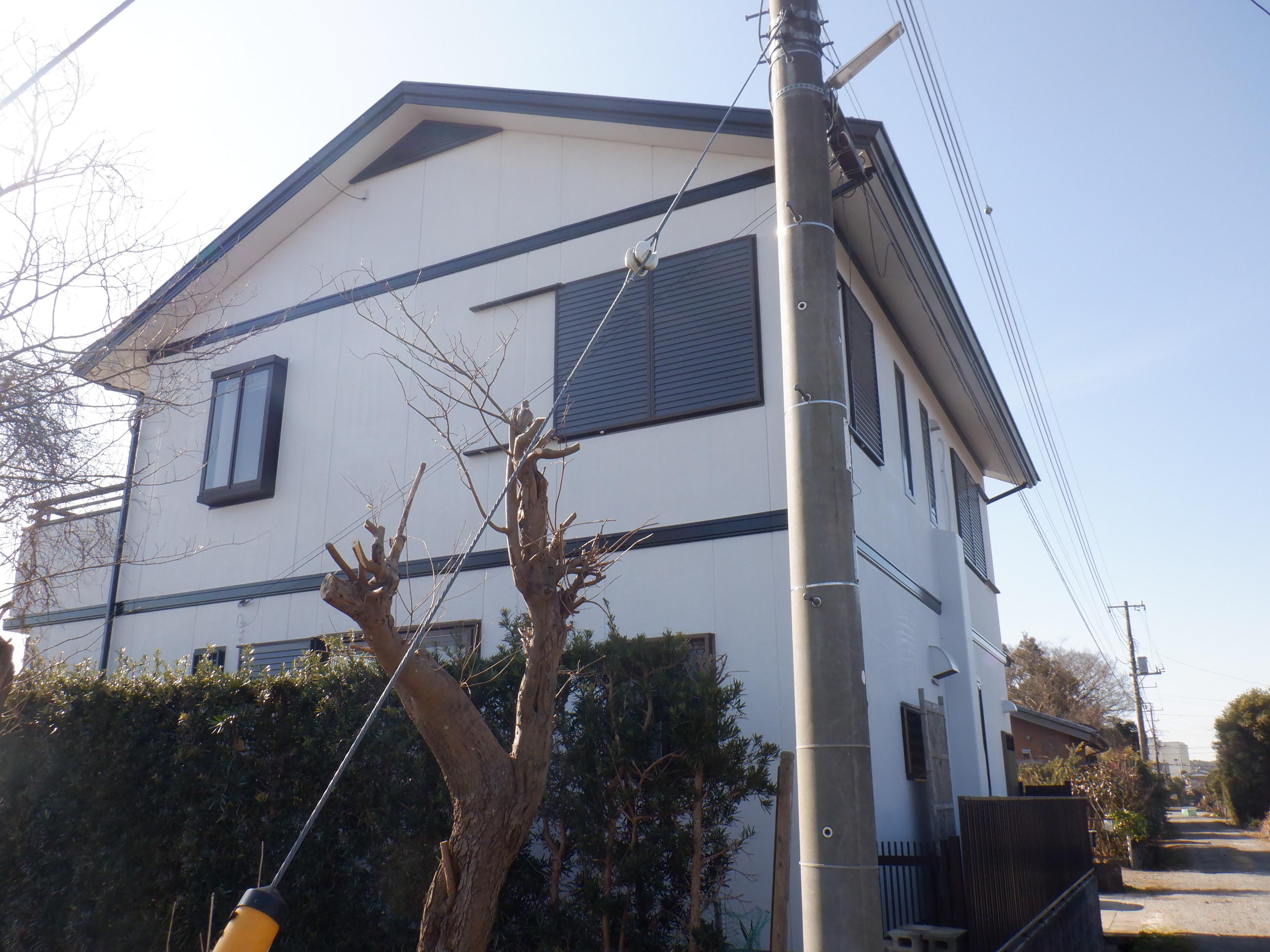 茂原市K様邸 外壁・屋根塗装工事