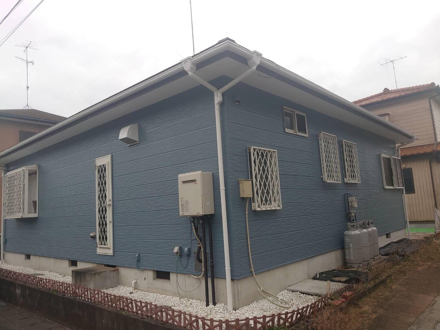 茂原市H様邸 外壁・屋根塗装工事