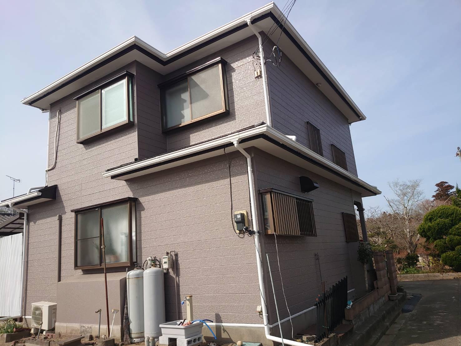 茂原市O様邸 外壁・屋根塗装工事