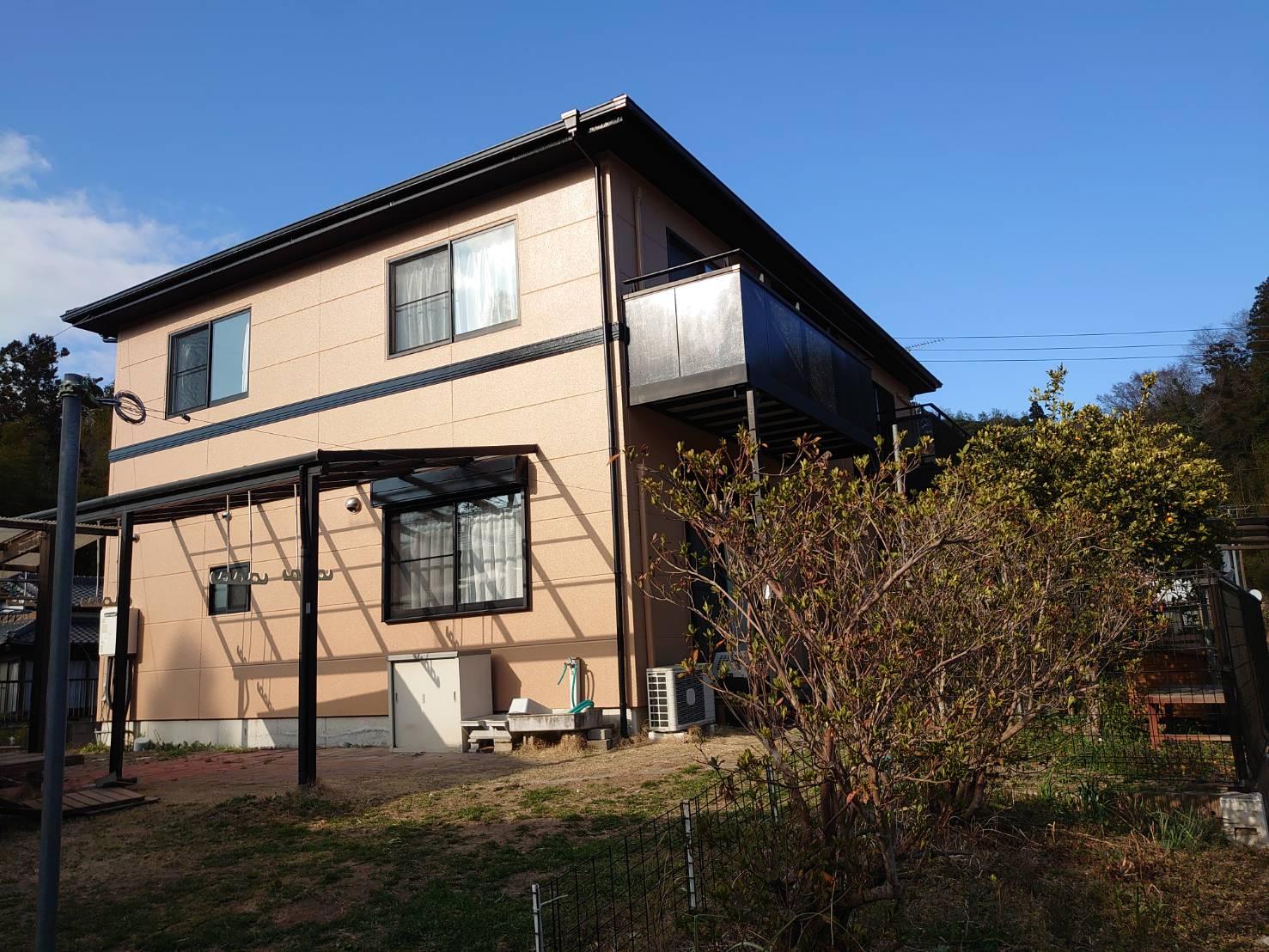 長生郡O様邸 外壁塗装・倉庫屋根塗装・屋根葺き替え工事
