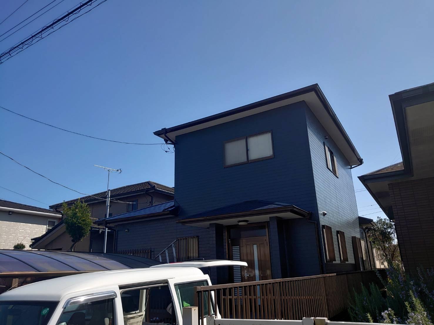 長生郡I様邸 外壁・屋根塗装工事