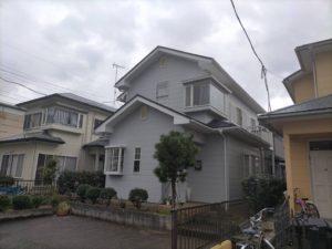 東金市で外壁・屋根塗装が完工です。