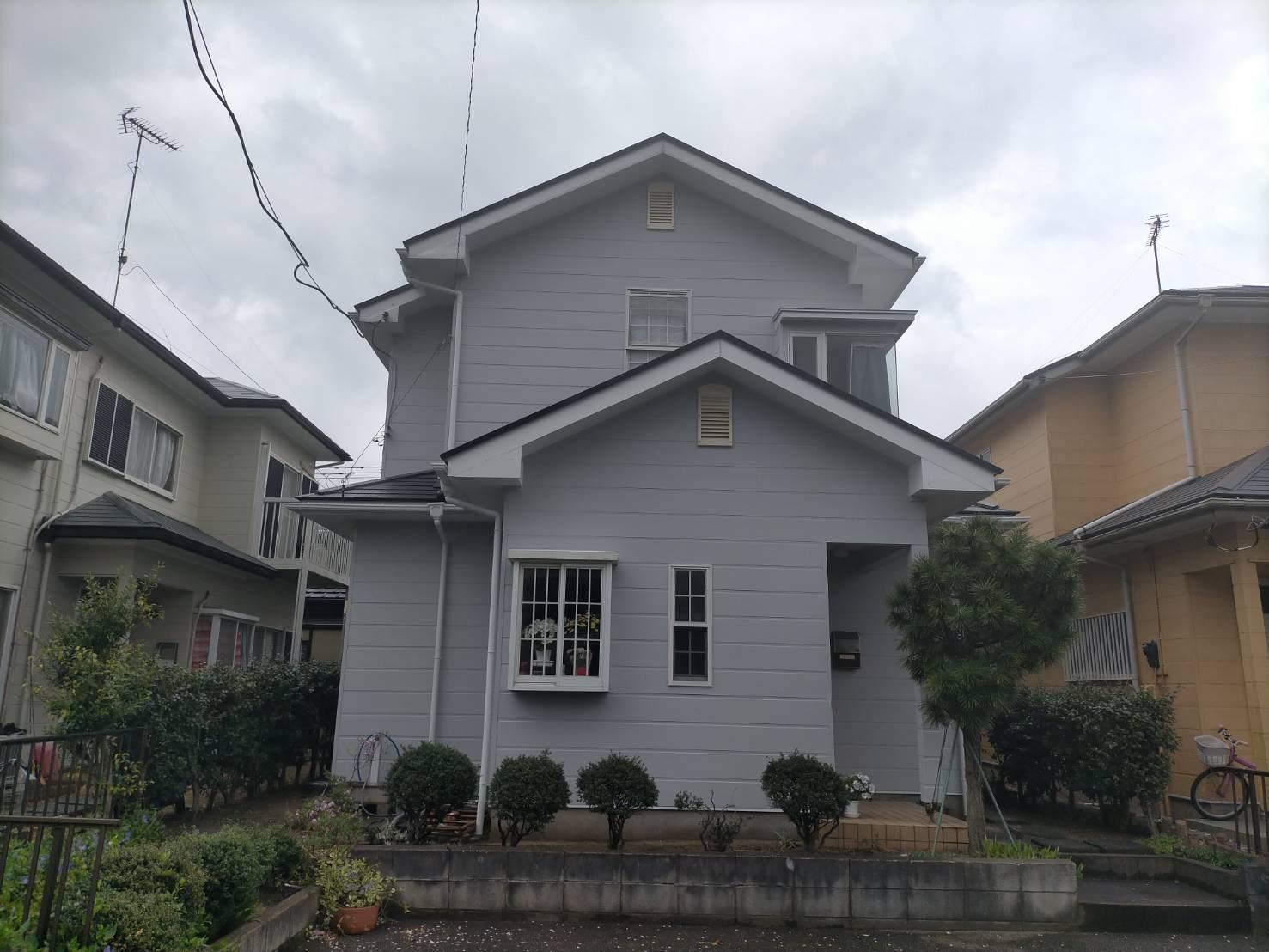 東金市S様邸 外壁・屋根塗装工事