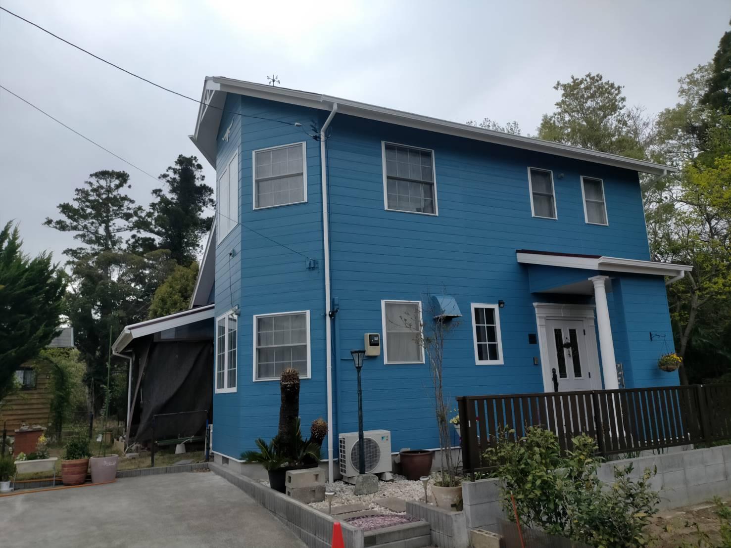 茂原市D様邸 外壁・屋根塗装工事