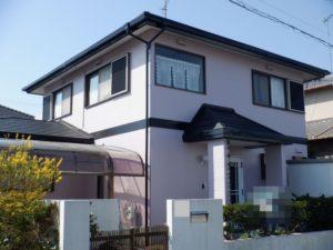 茂原市で外壁塗装・屋根カバー工事が完工です。