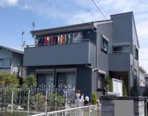市原市で外壁・屋根塗装工事が完工です。