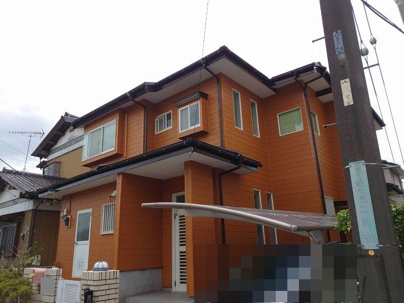 茂原市S様邸 外壁塗装・屋根葺き替え工事