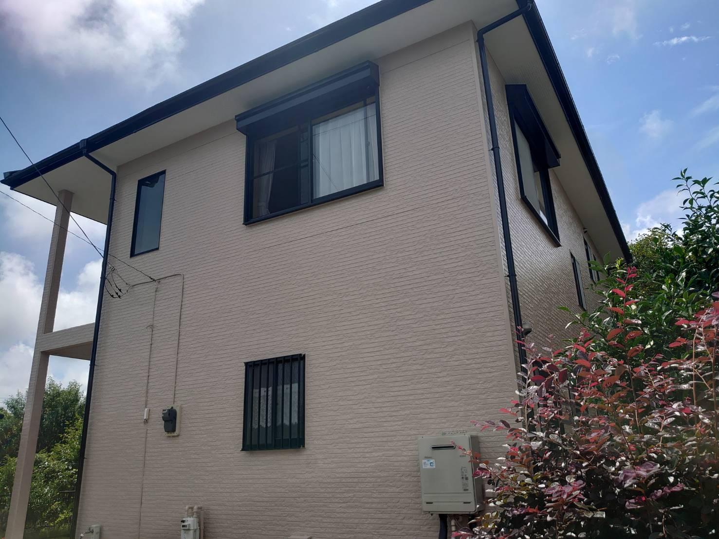 長生郡S様邸 外壁・屋根塗装工事