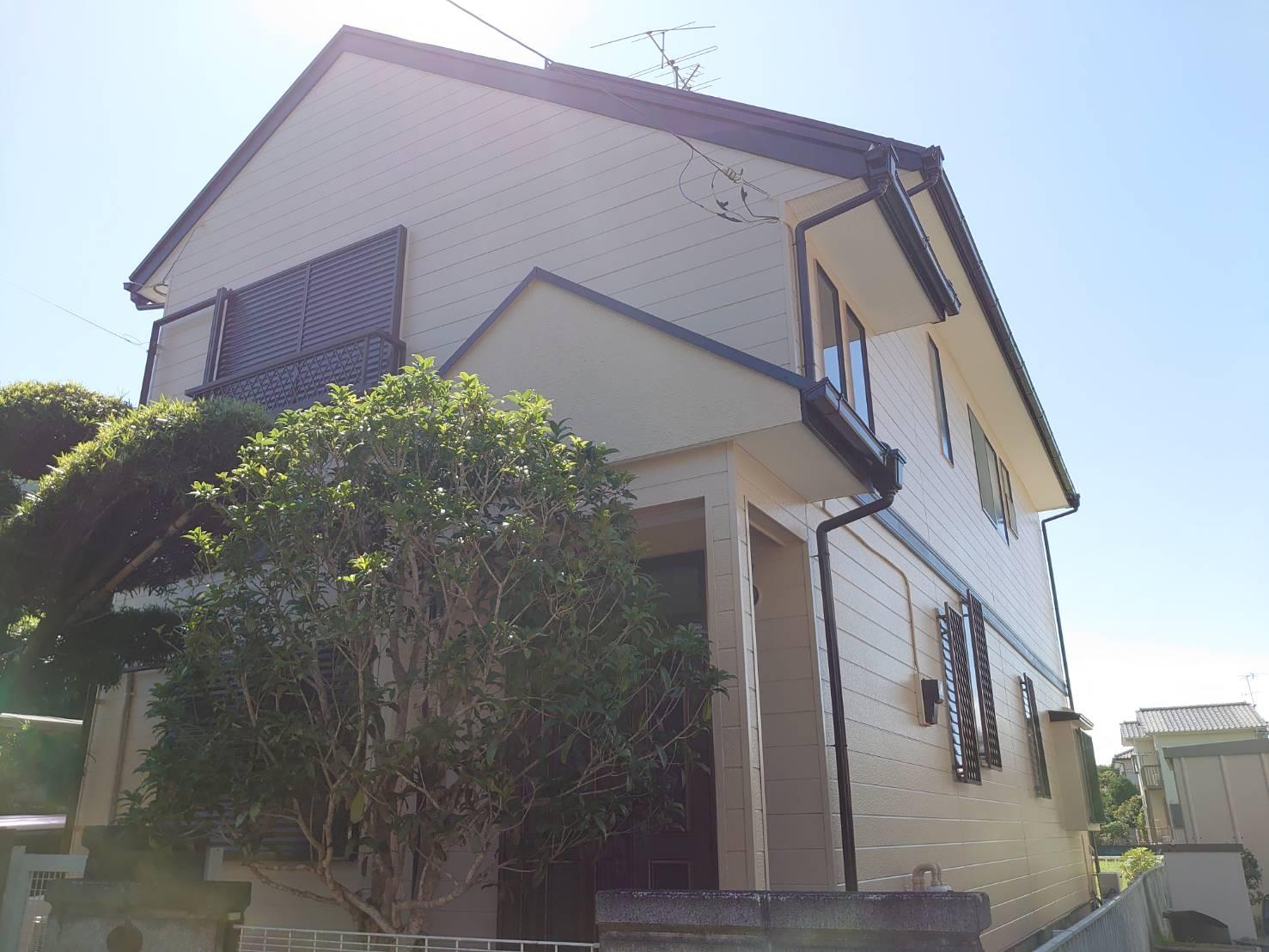 大網白里市N様 外壁・屋根塗装工事