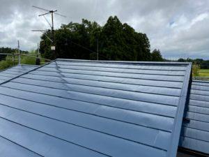 大網白里市で屋根塗装工事が完工です。