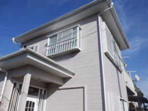 長柄町で外壁・屋根塗装工事が完工です。
